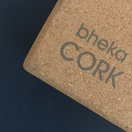 bheka cork block from BLDG 7 yoga